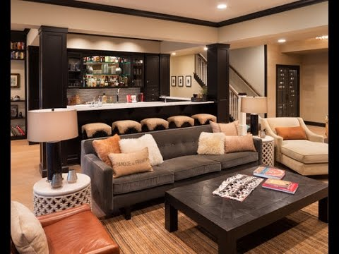 48 Most Stylish Basement Bar Ideas YouTube Stunning Basement Bar Idea
