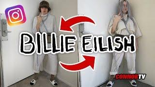 I Copied BILLIE EILISH Instagram Outfit - GUCCI