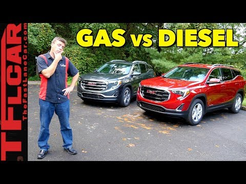 2018 GMC Terrain Diesel:  Review, Price >> All New 2018 Gmc Terrain Gas Or Diesel First Drive Review