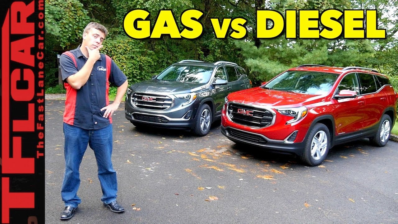 2018 Gmc Terrain Diesel Review Price >> All New 2018 Gmc Terrain Gas Or Diesel First Drive Review