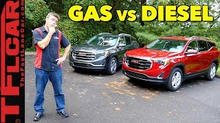2018 GMC Terrain Gas or Diesel: Which One Is Best?