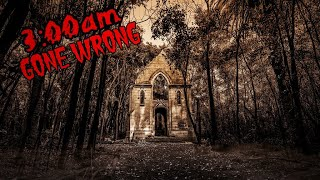 3AM WITCH'S Abandoned HOUSE (Gone WRONG)