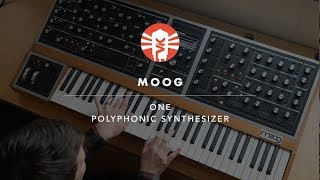 Moog One | Polyphonic Analog Synthesizer | Vintage King