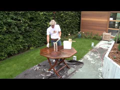 Comment huiler vos meubles de jardin en teck ? | XYLADECOR