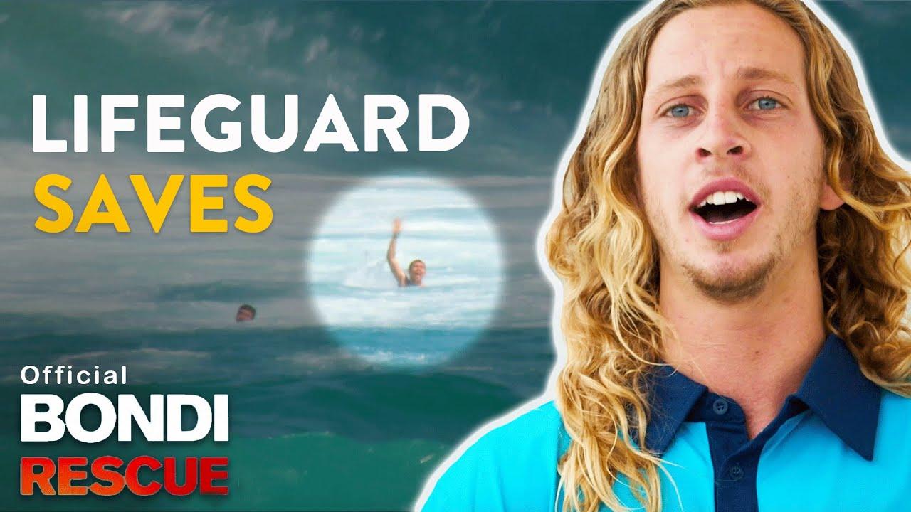 Top 5 Real Lifeguard Saves Bondi Rescue Season 13 Youtube