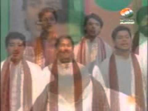 Atma Gill in Group song at Doordarshan