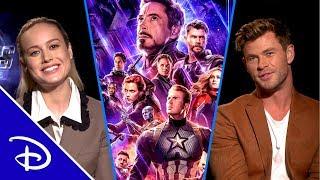 The Cast of Marvel Studios' Avengers: Endgame Remembers Stan Lee | Disney