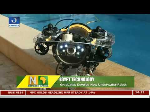 Egyptian Graduates Develop Underwater Robot |Network Africa|