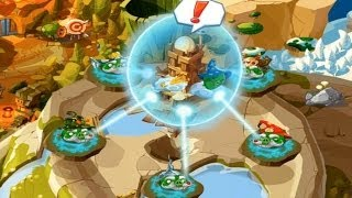 Angry Birds Epic RPG - Seal Barrier Bosses