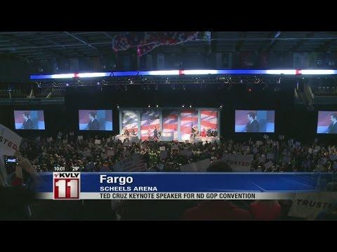 Presidential Hopeful Ted Cruz addresses North Dakota GOP