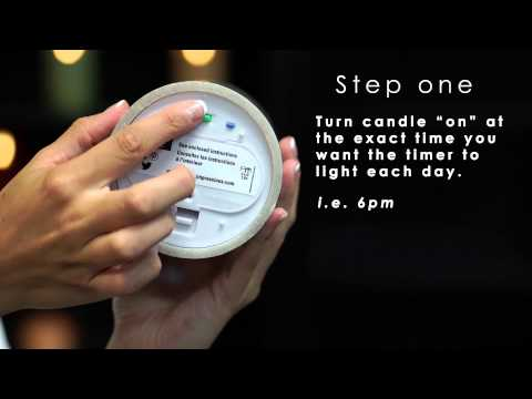How To Set Candle Impressions And Mirage 5 & 10 Hour Timers
