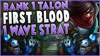 This New Talon Strat Gets First Blood On First Wave (Level 2 in 1 Wave) | Yamikaze