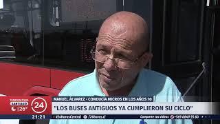 120 buses nuevos circularán en Santiago: Conoce los recorridos beneficiados