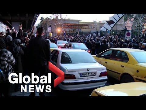 Iran plane crash: