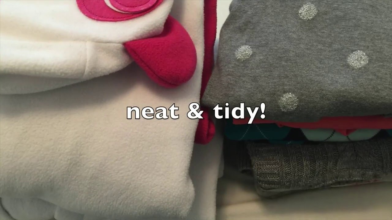 konmari method modified how to fold sweaters and bulky clothing youtube. Black Bedroom Furniture Sets. Home Design Ideas