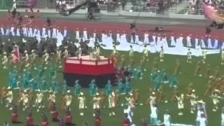 歌手の坂本冬美さんが登場し国体イメージソング歌われました.