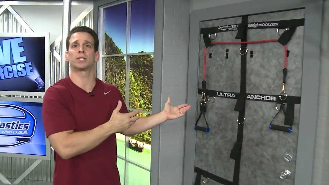 UltraAnchor Door anchor, Attachment - YouTube