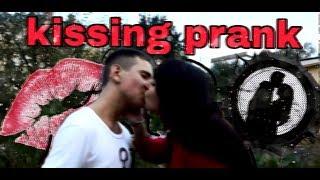 #1 Kising Prank: Развод на поцелуй / Реакция людей на мои выходки