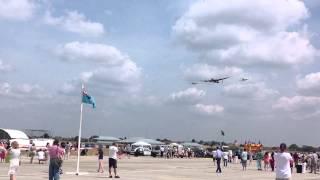 BBMF Flypast RAF Northolt families day 2013