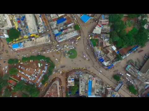 Hubli Chennamma Circle Aerial View|Best View
