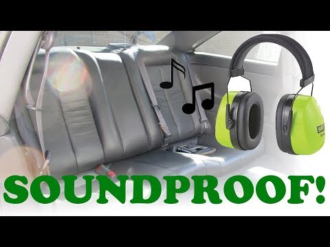 Car Sound Proofing Installation