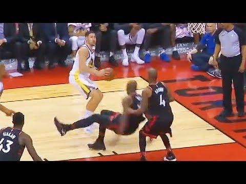 Klay Thompson ANKLE BREAKS Serge Ibaka & Drops Him! Warriors s Raptors January 13, 2018
