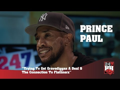 Prince Paul - Trying To Get Gravediggaz A Deal & The Connection To Flatlinerz (247HH Exclusive)