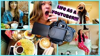 LIFE AS A YOUTUBER!!! Vlogmas 12 + 13!!! Thumbnail