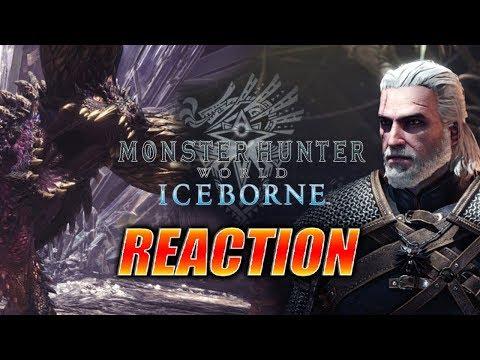 MAX REACTS: Geralt, IceBorne Expansion & More - Monster Hunter World thumbnail