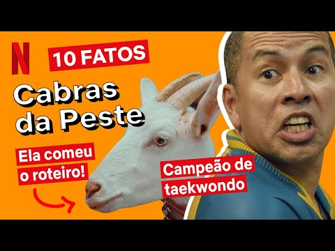A cabra fez xixi no carro! 10 coisas que rolaram no set de Cabras da Peste | Netflix Brasil