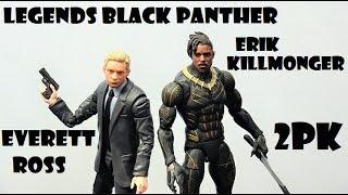 Marvel Legends Black Panther 2pk Everett Ross and Erik Killmonger