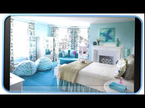 Blue Modern Girls Bedrooms