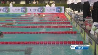 Анастасия Маркова победительница чемпионата Европы среди юниоров по плаванию