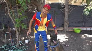 عمو صابر وكلبه المخلص - amo saber and his loyal dog