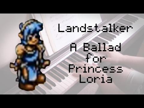 Landstalker - 'A Ballad for Princess Loria' Piano Solo Cover