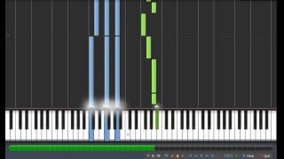 Yesterday - The Beatles (Tutorial Piano) (Luis Moye Gardea) (Synthesia)