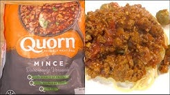 Quorn Mince - What Does Mycoprotein Fake Meat Taste Like?