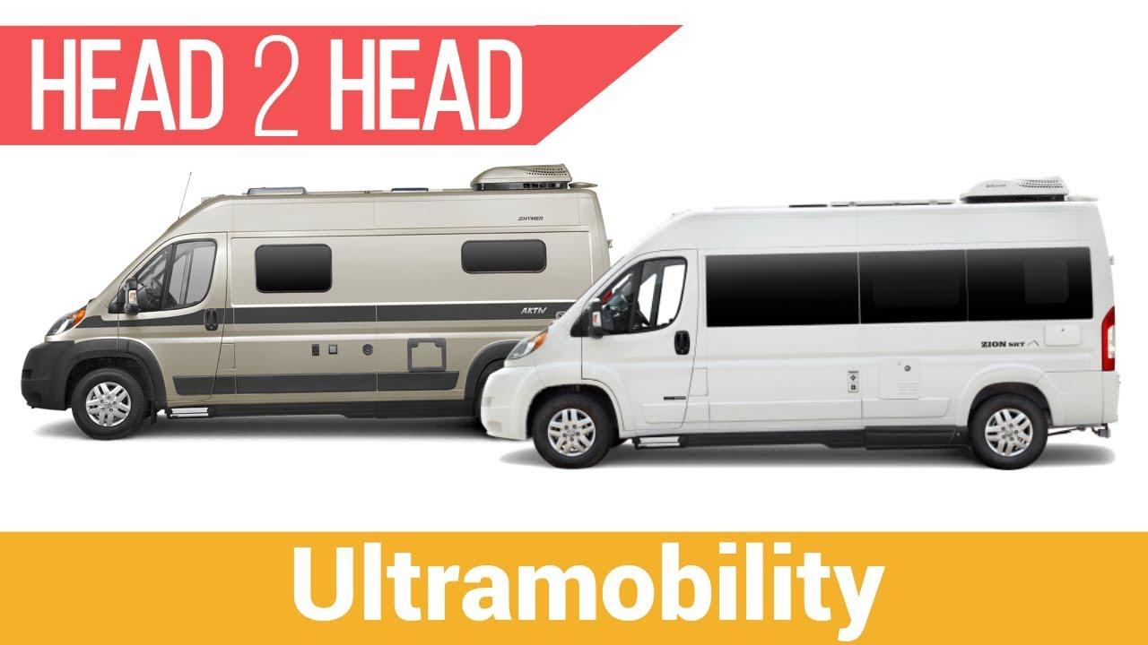 Roadtrek Zion SRT vs Hymer Aktiv 1 0 | Which Short Camper Van Will Win?
