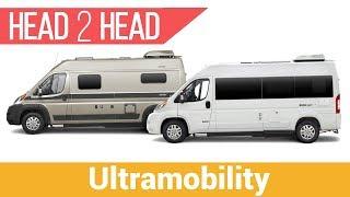 Roadtrek Zion SRT vs Hymer Aktiv 1.0 | Which Short Camper Van Will Win?