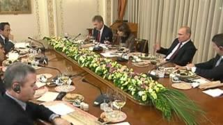 1 канал  Встреча Путина с главными редакторами зарубежных СМИ 02 марта 2012