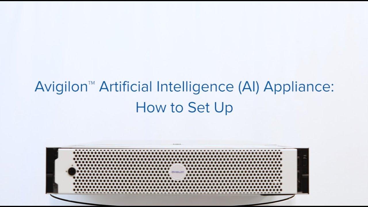 Configuración del dispositivo de IA de Avigilon