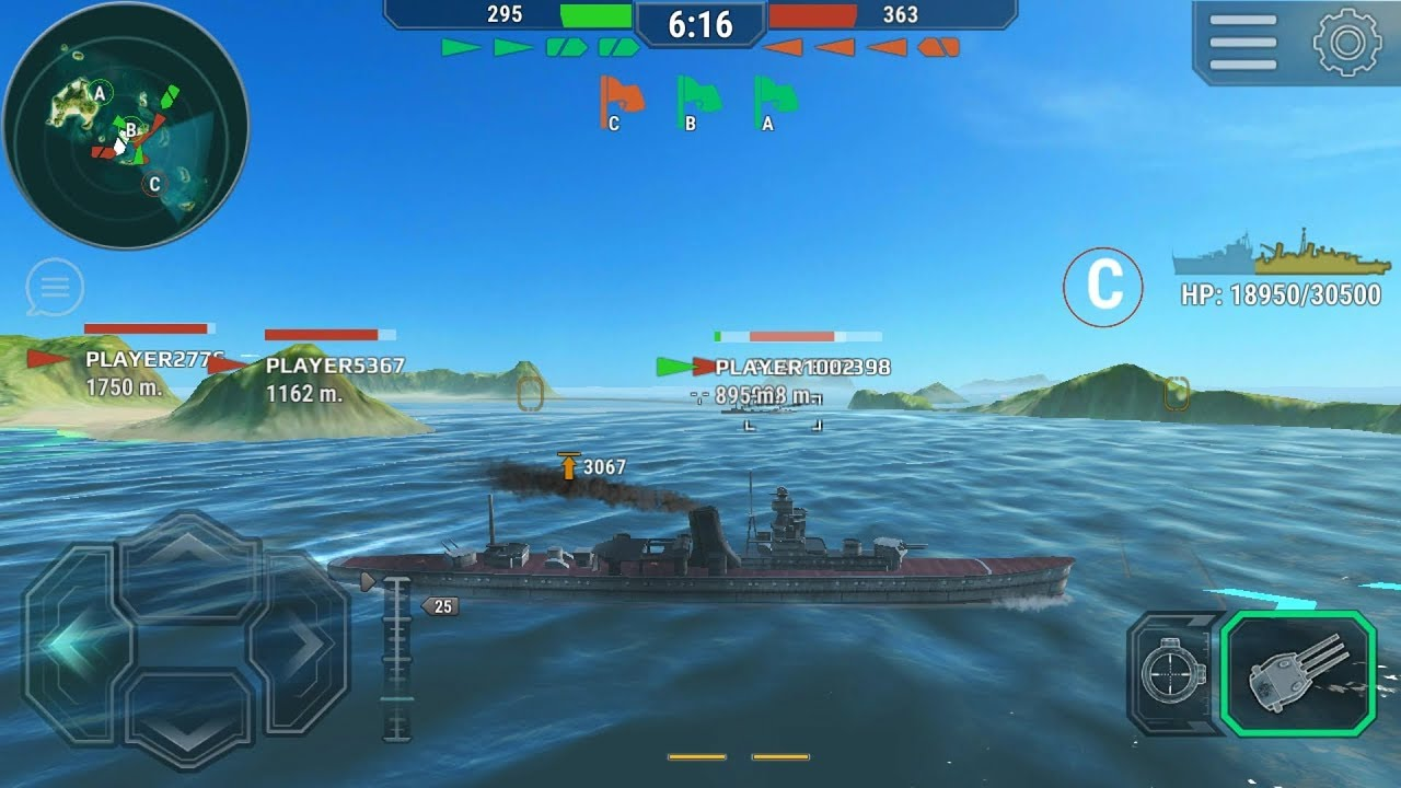 Warships Universe: Naval Battle (by GameSpire Ltd ) - action game for  android and iOS - gameplay