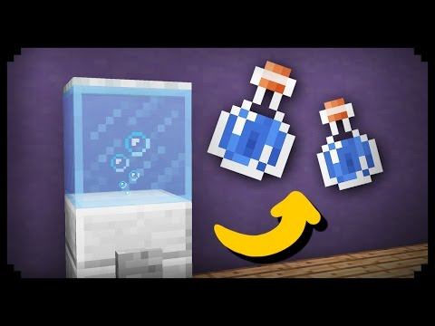 ✔ Minecraft: How to make a Working Water Dispenser