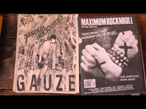 Maximum Rocknroll Archive and Database