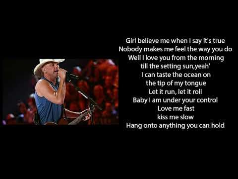 Kenny Chesney   Tip Of My Tongue Lyrics