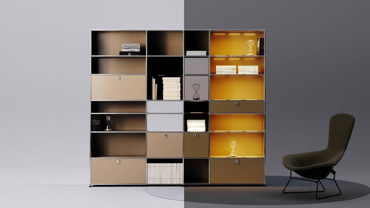 The Classic In A New Light: USM Haller E. USM Modular Furniture