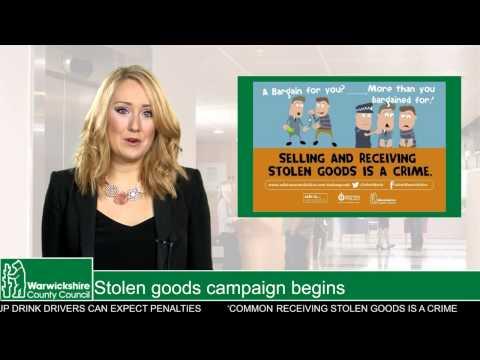 Stolen goods campaign begins