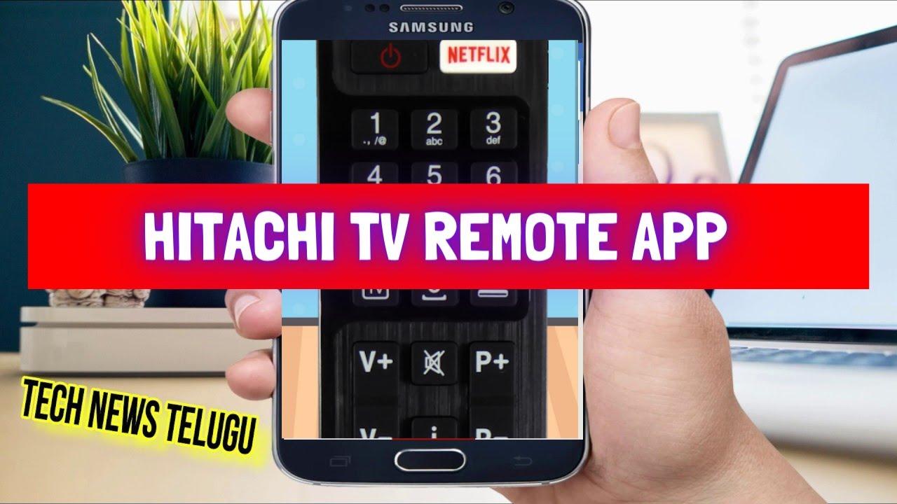 Hitachi Tv Remote App Hitachi Smart Tv Remote Control Remote Control For Hitachi Tv Youtube