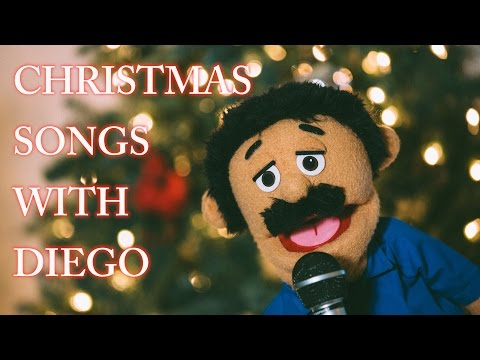 Christmas Songs with Diego | Awkward Puppets