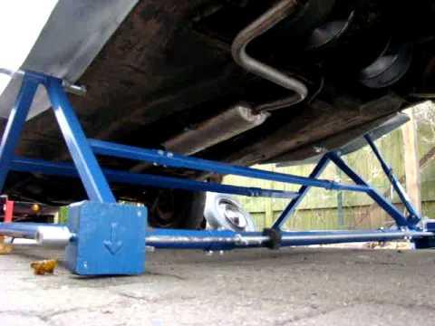Volvo 66: optillen met een minibrug